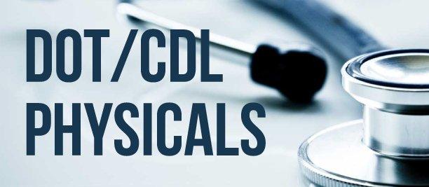 dot/cdl physicals